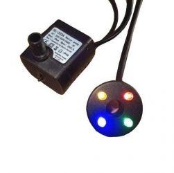 Bomba submersa para fonte com led (luz) piscante