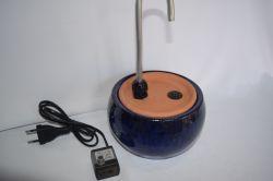 Bebedouro Fonte p/Gatos Requinte Azul - 2 litros c/bomba e filtro
