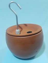 Bebedouro Fonte p/gatos Stilus 2,0 lts cerâmica c/filtro + 2 BRINDES - CenterArts